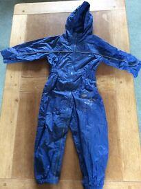 Regatta Waterproofs, Blue aged 3-4
