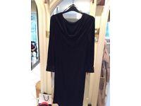 BIBA DRESS IN BLACK. SIZE 14. Long Sleeves