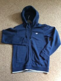 Adidas blue small men's hoody