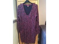 JOULES LADIES TUNIC DITSY DRESS SIZE 12
