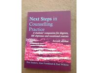 Next steps in counselling