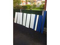 Arneg shelving back panels