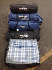 Vango Maritsa 600 Tent, Awning/Canopy, Footprint & Carpet