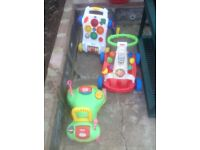 Bayby and toddler walkers, £10