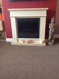 Decorative Electric Fire Place And Surround