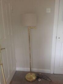 Floor Lamp. Gold effect finish
