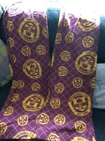 Free FREE Motherwell FC football curtains