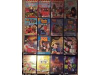 DVDs, lots of fun titles suitable for young children.
