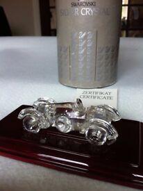 Swarovski crystal car ornament