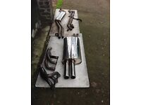 BMW e30 magnex manifold and full scorpion exhaust