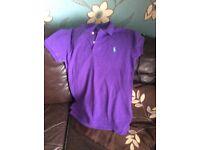 Ralph Lauren Large purple mans polo