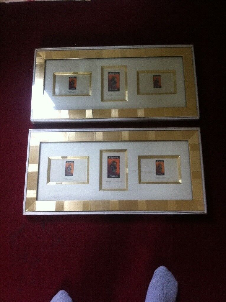 2 gold picture frames £10 | in Bradford, West Yorkshire | Gumtree