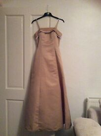 Gold Prom Dress Size 6