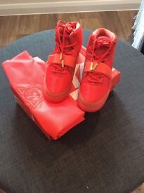 Nike Air Yeezy 2 Red October 100% authentic, size uk9