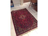 Thick Persian rug
