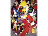 Mixed lot of Lego Bricks