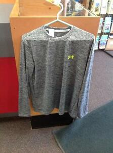 Underarmour a Athletic Long Dleeve -Men's L- Grey (sku: Z15097)