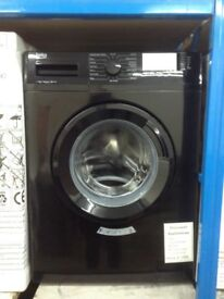 Beko black 7kg 1400 spin washing machine. A+++ £199 new/graded 12 month Gtee