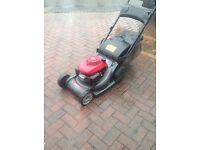 Honda hrx 476 qxe rear roller petrol mower