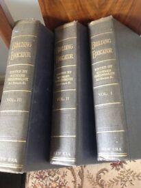 Building educator three large volumes