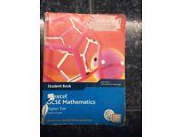 Edexcel GCSE Mathematics higher tier linear book £3 Bargain!
