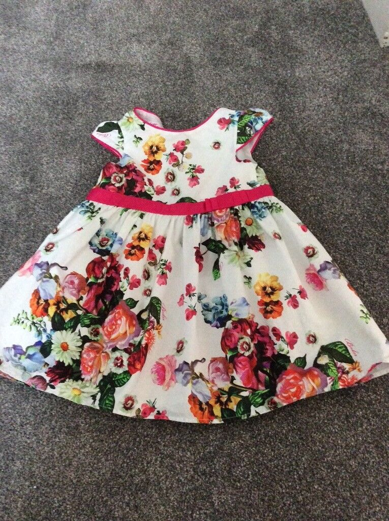 Ted Baker dress for 12 - 18 months. Good Condition.