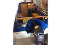 Microplus 501 Boat plus trailer