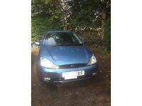 Focus mk1 1600 petrol blue 5 door