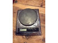 Salter Weighing Scales. Fully Operational. Silver Black colour