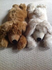 Large Soft toy dogs