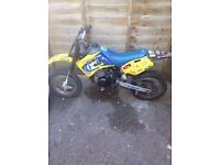 Husky boy 50 small wheel and big wheel 60% complete please read 400ono same as ktm