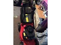 Sovereign 40 cm petrol self propelled lawnmower only used once £75 or nearest offer