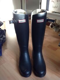 Brand new Hunter Wellington boots, size 7