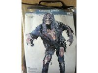 fancy dress halloween zombie costume
