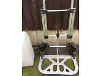 Camping or caravaning water carrying trolley. Surplus to requirements now .in new condition