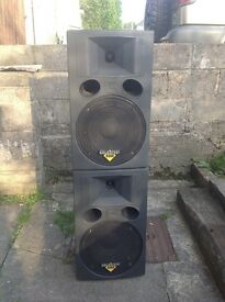 celestion road series r1220 Disco . P.a speakers 12 inch 250w