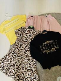 Girl's Beautiful Clothes Bundle 9/10yrs
