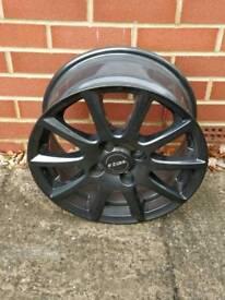 Set of 4 rail alloy wheels