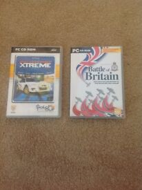 Pc cd rom games for computer £10 & £5