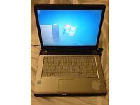 Toshiba laptop A200 120gb HD, 2gb ram, intel dual core 1.73Ghz