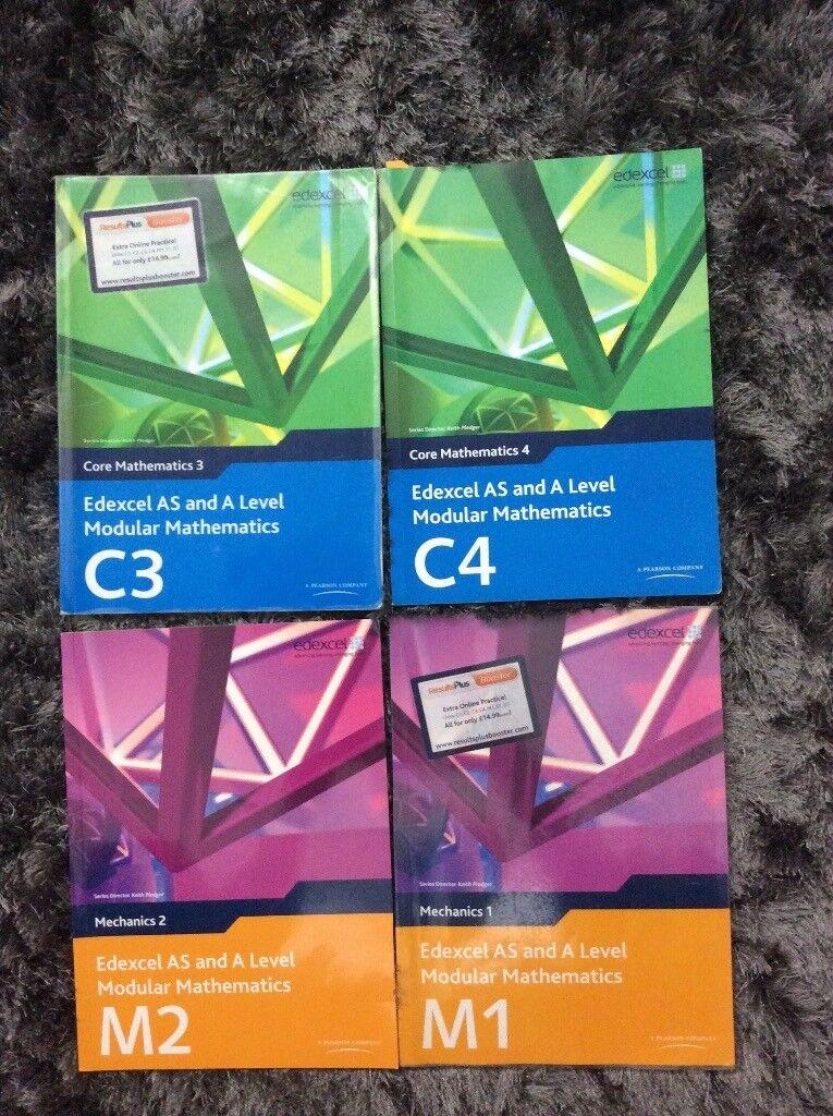 Edexcel C3,C4,M1,M2 Mathematics Books