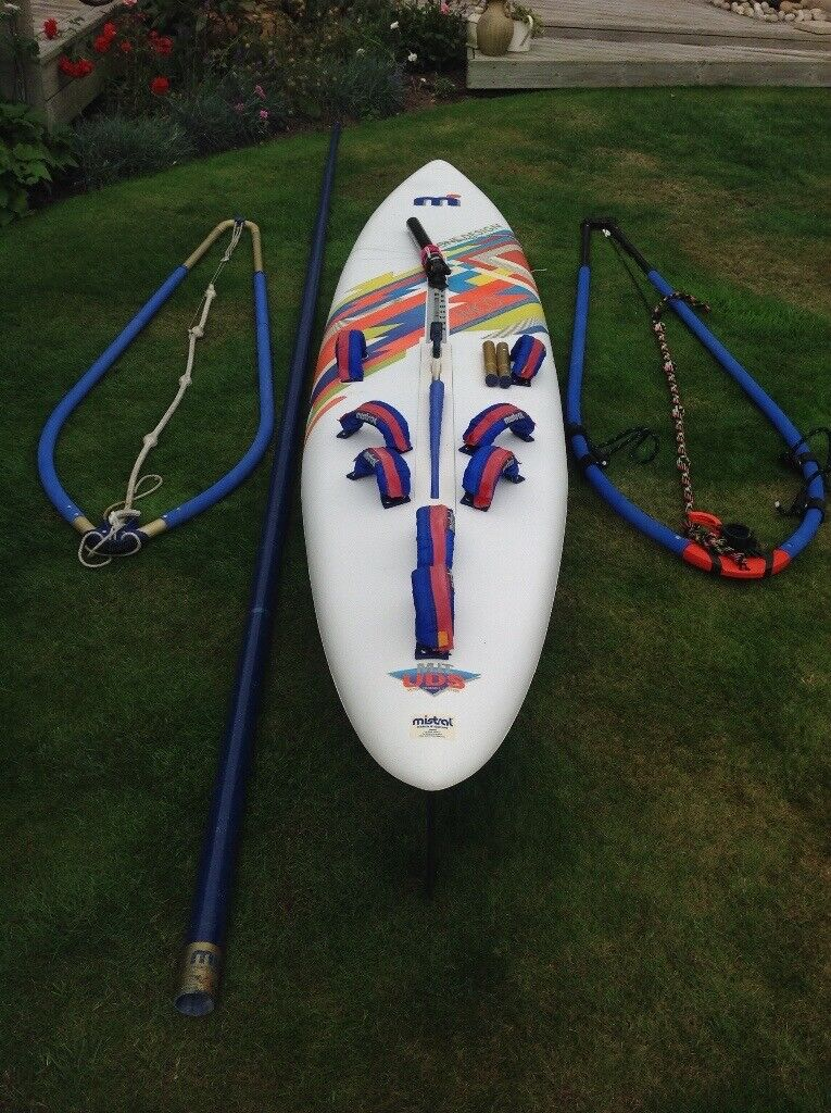 Mistral Equipe imco race board complete with Hookipa Short Board   Price  Reduced | in Christchurch, Dorset | Gumtree