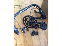 Campagnolo campag veloce groupset vgc 10 speed