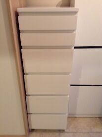 Chest of Drawers (MALM Ikea) (RRP £85)