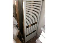 Towel radiator - white - bathroom - used condition