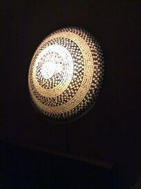 Large Mosaic Wall Light
