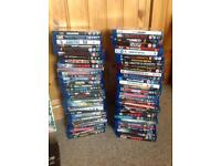 Large Blu Ray and DVD collection.