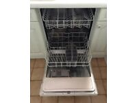 Neff Semi-Integrated Dishwasher with user manual in excellent condition
