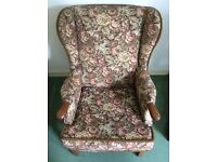 URGENT- Classic Armchair in good condition!