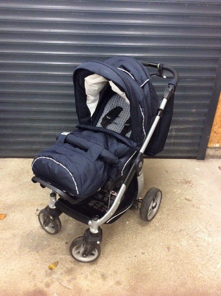 Teutonia Cosmo 14 Pushchair Car Seat Combo